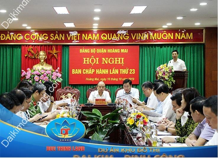 Hội nghị Ban chấp hành lần thứ 23 của Tập đoàn Hoàng Hà