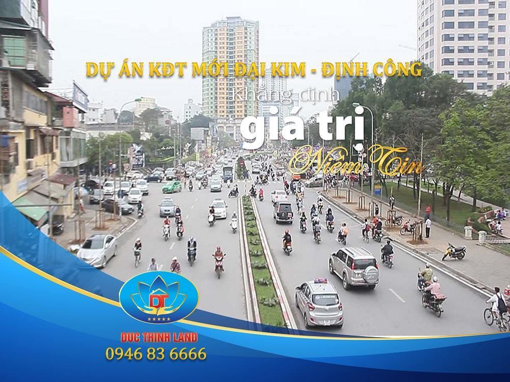 Dự án khu đô thị mới Đại Kim Định Công