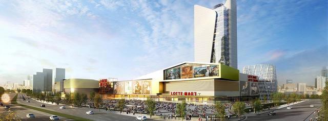 Sau khi hoàn thành, Lotte Mall Hanoi sẽ là TTTM lớn nhất tại Hà Nội