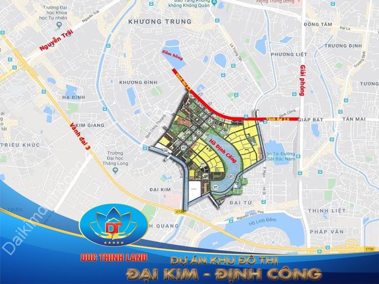 Dự án KĐT mới Đại Kim - Định Công với đầy đủ hồ sơ pháp lý minh bạch