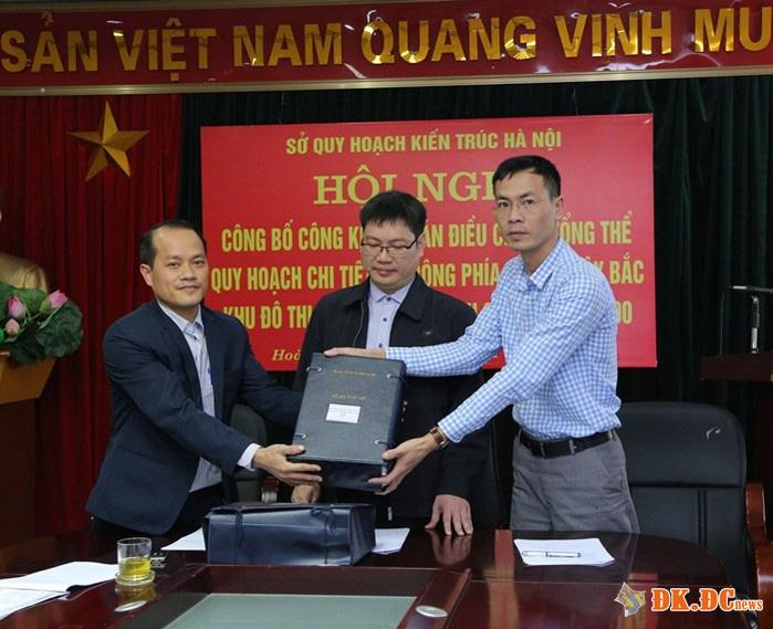 Công bố điều chỉnh Quy hoạch chi tiết dự án KĐT mới Đại Kim Định Công tỷ lệ 1:500