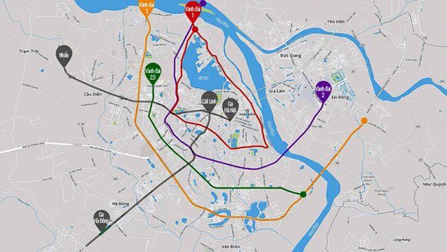 Tuyến đường vành đai 2.5 và Dự án KĐT mới Đại Kim - Định Công rộng 109ha đang được triển khai song song