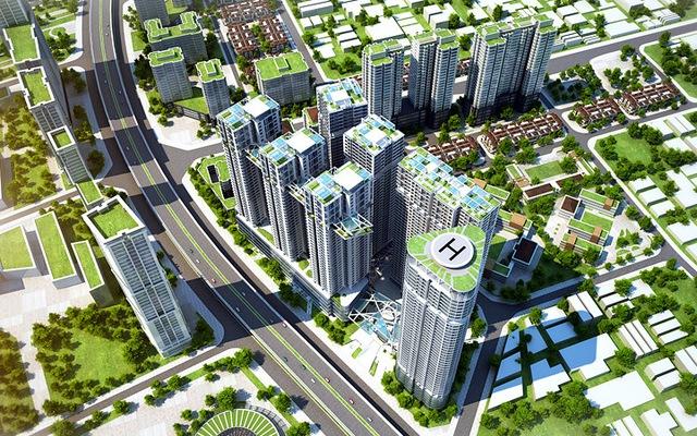 Quy hoạch khu cao tầng tại đô thị Đại Kim – Định Công