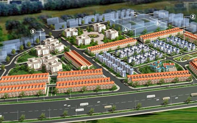 Quy hoạch xây nhà thấp của khu đô thị