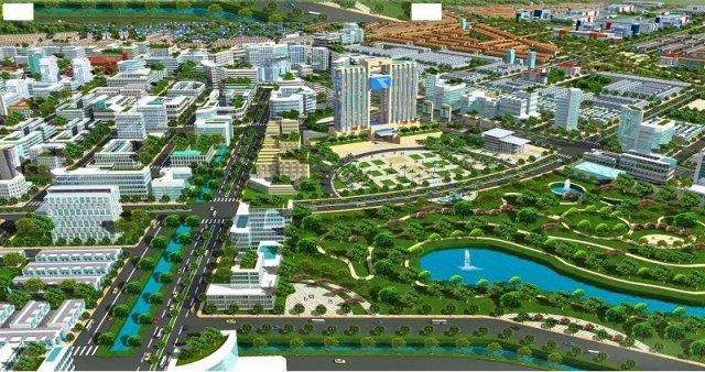 Cảnh quan khu đô thị mới Đại Kim Định Công