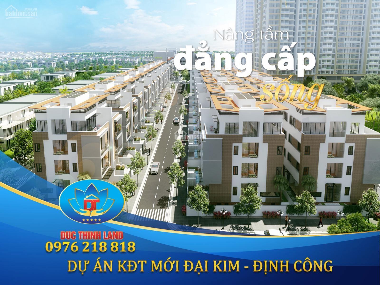 Shophouse dự án khu đô thị mới Đại Kim Định Công