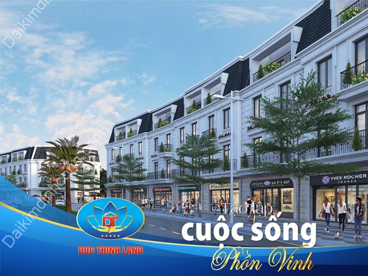 Nhà phố liền kề dự án KĐT mới Đại Kim - Định Công