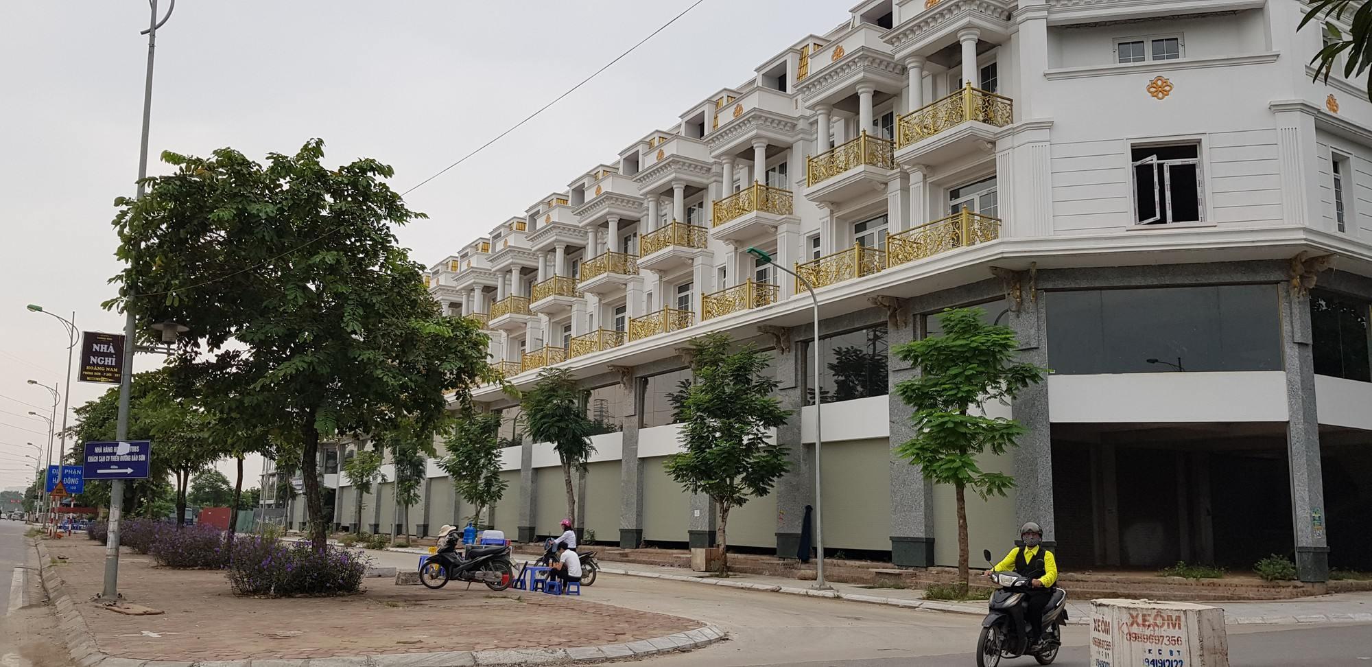 Shophouse tại Hà Nội đang xây dựng